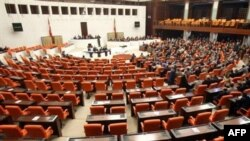 The Turkish parliament in Ankara (file photo)
