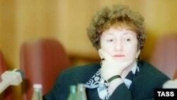 Галина Старовойтова, январь 1996 г.