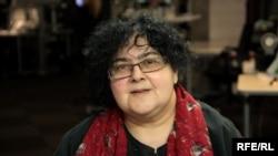Елена Гремина в студии Радио Свобода