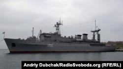 Один из кораблей ВМС Украины