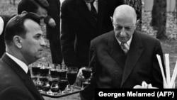 Де Голль в 1968 году