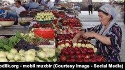 Uzbekistan - uzbek bazaar