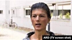 Sarah Wagenknecht (Foto: TV/ARD)