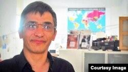 رضا معینی، مسئول امور ایران گزارشگران بدون مرز