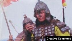 Монгольский воин армии Чингис-хана. Wikipedia.