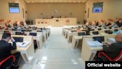 Заседание в парламенте Грузии (архивное фото)