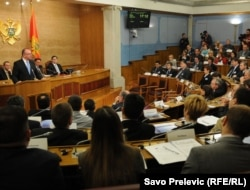 Skupština Crne Gore, april 2011.
