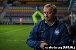 Аляксандар Ермаковіч. галоўны трэнэр БАТЭ