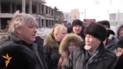 Астанадағы наразы үлескерлер