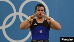 Böyük Britaniya - Ripsime Xurşidyan bürünc medalçıdır, London, 5 avqust
