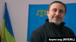 Лідер акції блокади окупованого Росією Криму Ленур Іслямов