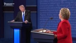 Trump, Clinton Clash On Terror Strategy In TV Debate