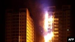 Požar u stambenom tornju Ajman, UAE