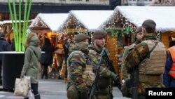 Солдати на вулицях Брюсселя (ілюстраційне фото)