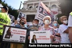 U Sarajevu se u subotu održava 20. protesti za Dženana i Davida.