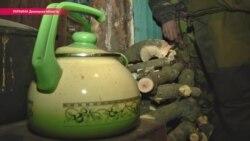 «Подземные города» из блиндажей: как живут на Донбассе (видео)