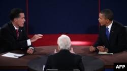 Третьи дебаты между Бараком Обамой и Миттом Ромни