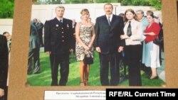 Президент Азербайджана Ильхам Алиев с казаками, живущими в Азербайджане