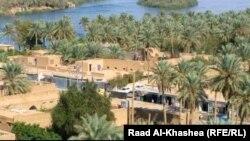 Pamje e një pjese të rajonit Hadita në Irak