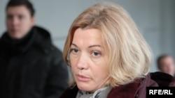 Представниця України в Тристоронній контактній групі Ірина Геращенко