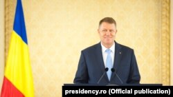 Romania -- Romanian President Klaus Iohannis, Bucharest