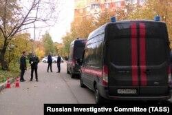 На месте убийства Евгении Шишкиной