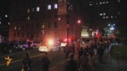 """Полиция Нью-Йорка против """"Захватчиков Уолл-стрит"""""""