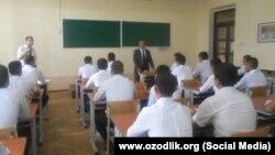 В аудитории Ташкентского университета информационных технологий, архивное фото.