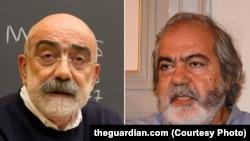 Ahmet Altan (sol) və qardaşı Mehmet Altan