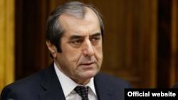 Председатель Маджлиси милли Таджикистан Махмадсаид Убайдуллоев. Москва, 23 октября 2014 года.