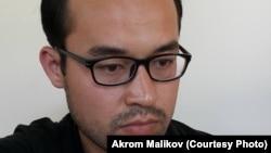 Молодой ученый-исследователь Акром Маликов был арестован 22 июля 2016 года после публикации в Интернете критических статей об узбекских властях.