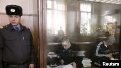 Платон Лебедев и Михаил Ходорковский
