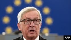 Ýewropa Komissiýasynyň prezidenti Jean-Klaude Junker, Belgiýa, 9-njy sentýabr, 2015
