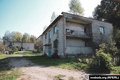 Дом, дзе калісьці жыла маці загінулага
