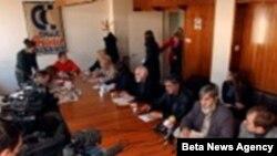 Состанок на синдикатот на просветни работници во Србија