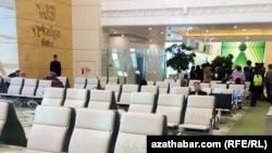 Международный аэропорт Ашхабада, сентябрь 2018. (иллюстративное фото)