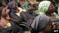 Oslobođene djevojke iz Čiboka