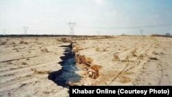 به دلیل «برداشتهای بیرویه آب» از منابع زیرزمینی سالانه ۱۶ سانتیمتر فرونشست زمین در استان تهران دیده شده است.