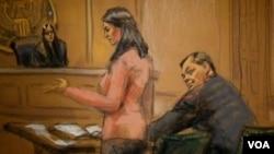 ჯაშუშობაში ეჭვმიტანილი ევგენი ბურიაკოვის სასამართლო პროცესი