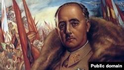 Официальный портрет Франсиско Франко времен его победы в гражданской войне (1939)