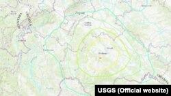 Područje zemljotresa je ponovo kod Petrinje