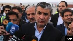 Министр дорог и градостроительства Исламской Республики Мохаммад Эслами