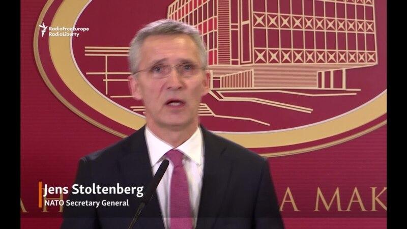 Stoltenberg Condemns Killing In Kosovo, Calls for Calm