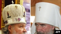 Metropolitans Kirill (left) and Kliment are the two main contenders to become the next patriarch of the Russian Orthodox Church.