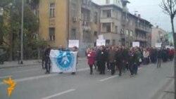 Лекарите на протест пред владата