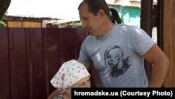 Володимир Балух із матір'ю напередодні арешту
