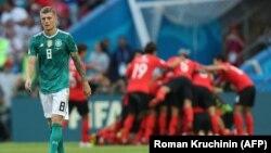 Поражение сборной Германии