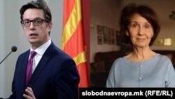 Стево Пендаровски и Гордана Силјановска-Давкова