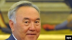 President Nursultan Nazarbaev is named in the case, but is immune from prosecution.
