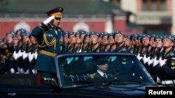 Ռուսաստան - Հաղթանակի 70-ամյակին նվիրված զորահանդեսը Մոսկվայի Կարմիր հրապարակում, 9-ը մայիսի, 2015թ․
